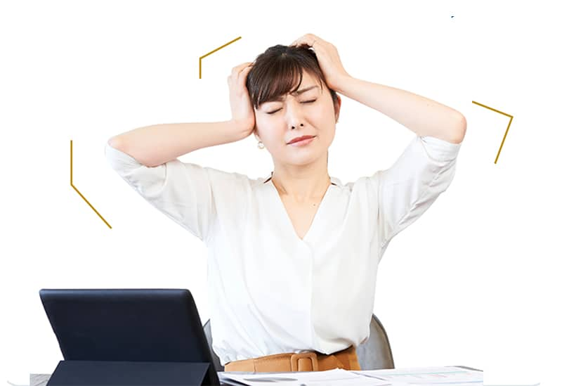 オフィスで仕事しているけど、なんだか集中できない!