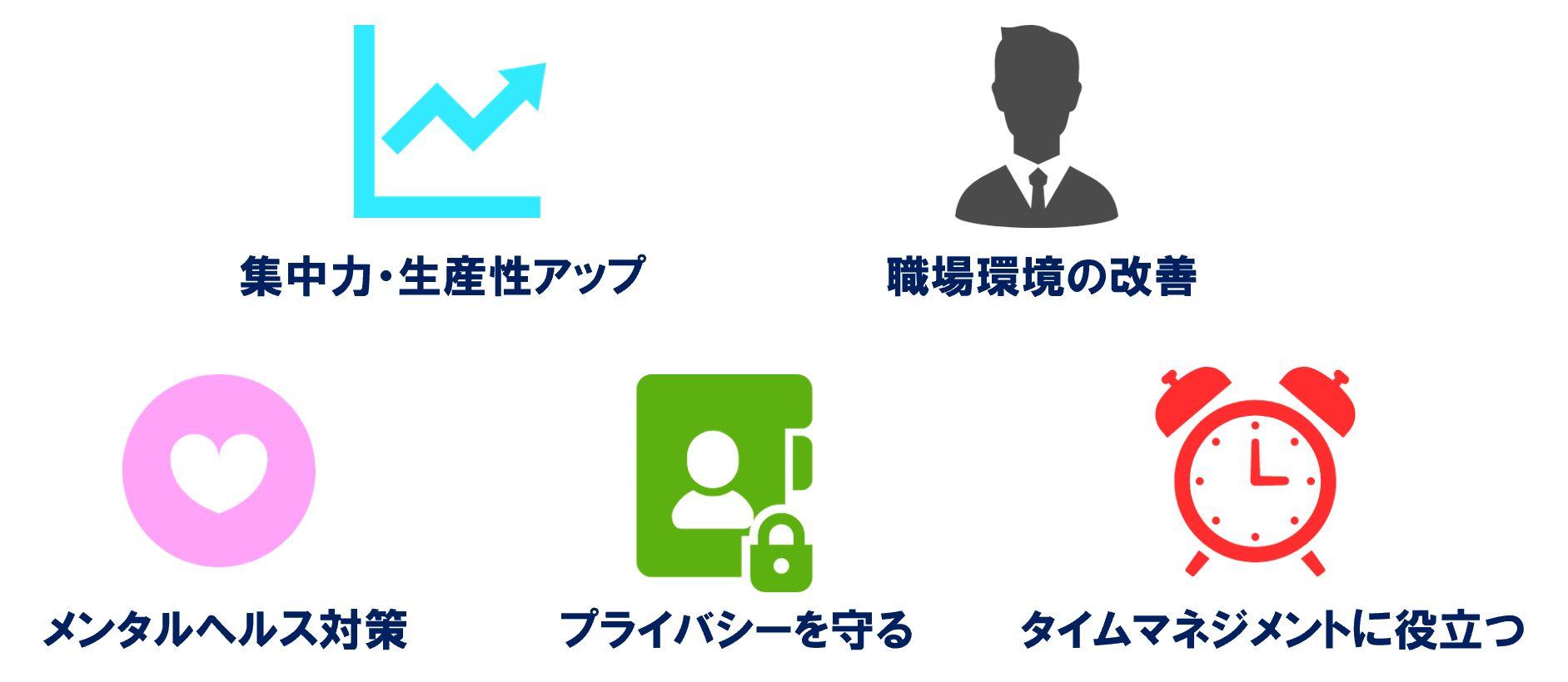 オフィスBGMの5つの効果